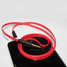 3,5mm Stereo Klinken Audio Klinke AUX Kabel Stecker für iPhone MP3 Auto Handy #