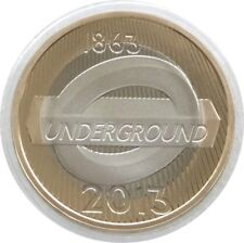 2013 London Underground 150th Anniversary Roundel £2 Two Pound Proof Coin