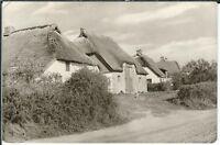 Ansichtskarte Vitte/Hiddensee - Norderende - Reethäuser - seltene Aufnahme - s/w