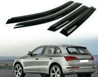 For Audi Q5 8R 5D SUV Hatchback Side Window Visor Sun Rain Guards Smoke 2018-20.