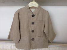 MONSOON - Age 3-6 Months 100% Linen Jacket. Lined.