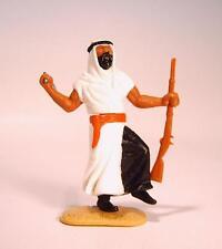 Timpo Toys Araber weiß/schwarz mit Krummsäbel und Gewehr Version 1