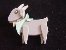 ERSTWILDER BILLY THE KID GOAT BROOCH