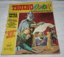 TRUENO COLOR EXTRA, SUPERAVENTURAS TERCERA EPOCA Nº 3 BRUGUERA 1978, COMIC ANTI