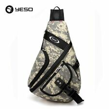 Camouflage Mens Bag Travel Sling Crossbody Bag Shoulder Messenger Bag