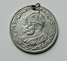 1910-1935 King George V & Queen Mary Commemorative Aluminum Medal - Jubilee 25th