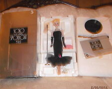 1989 SOLO IN THE SPOTLIGHT 1961 PORCELAIN BARBIE LIMITED EDITION NEW NRFB
