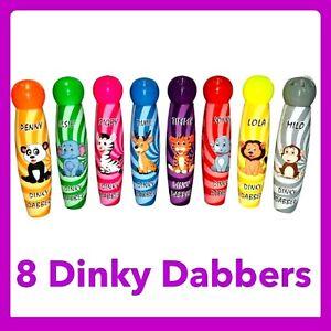 Bingo Dabbers 8 Pack Dinky Animal Dabbers Bingo Kids Bingo kids Toy 8 DINKY ANIM