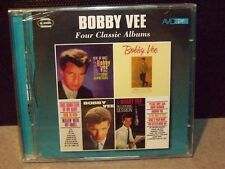 """BOBBY VEE """"FOUR CLASSIC ALBUMS ON A 2 CD SET"""
