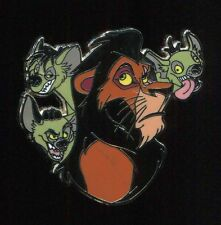 Mini Villains Booster Scar Shenzei Banzai Ed Disney Pin 78567