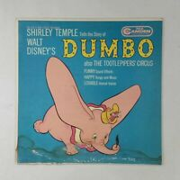 WALT DISNEY/SHIRLEY TEMPLE Dumbo CAL1026 LP Vinyl VG Cover VG