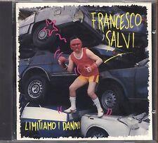 FRANCESCO SALVI - Limitiamo i danni - CD 1990 USATO OTTIME CONDIZIONI