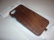 Orée coque iPhone 7 / 6S et 6 sans fil INDUCTION WIRELESS bois massif noyer