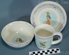 Set Wedgwood England Peter Rabbit For Your Christening Bowl Mug Plate  (FF)