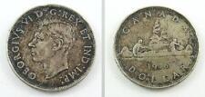 1946 Canada Silver Dollar - King George VI - Original Patina or Toning