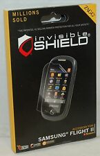 NEW Zagg Invisible-Shield for Samsung FLIGHT II 2 LCD Screen Protector SGH-A927