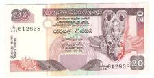 Offer>Sri Lanka 20 rupees 2006 paper banknote  very nice !