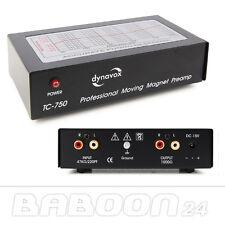 PHONO preamplificatore, equalizzatori | Dynavox tc-750 | nera