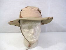 post-Vietnam US Army 3-Color Desert Camouflage Boonie Hat - Size 6 3/4 MINT