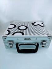 Gamestop Original  White Black X O Suitcase Case 0308S1A Nintendo DS Hard Shell
