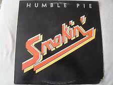 HUMBLE PIE SMOKIN' VINYL LP 1972 HOT N NASTY, OLD TIME FEELIN, THE FIXER, A & M