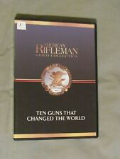 American Rifleman Video Collection 70 DVD LOT NRA Tales of the Gun History