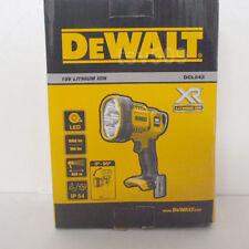 Genuine DEWALT DCL043 18V Cordless LED SPOTLIGHT Flashlight Work Light DCL043N