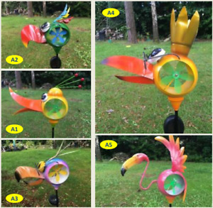 Windmill with solar light - Colourful & Fun