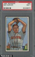 1952 Bowman SETBREAK #29 Ned Garver St. Louis Browns PSA 7 NM