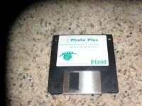 "Photo Plus MS-Windows 3.5"" disk"