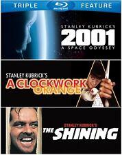 2001: A Space Odyssey/A Clockwork Orange/The Shinin (2012, REGION A Blu-ray New)