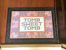 Haunted Mansion Tomb Sweet Tomb Door Mat 23x32 Disneyland Disney WDW 2018 RARE