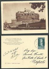 1937 REGNO CARTOLINA ANNULLO GIORNATA FILATELICA ROMA - X1-2