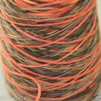 Sale NEW 1 Cone x 500gr Yarn Chunky Hand Knitting Colorful Soft Wool Cashmere 12