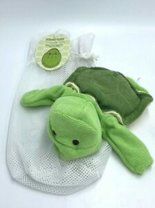 Scentsy Scrubby Buddy Twiggy The Turtle Hand Puppet Washcloth Baby Toy