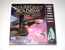 Star Trek Starfleet Academy PC Game Complete Big Box Limited Edition Figurine