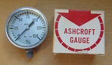 Ashcroft Vacuum Pressure Ammonia Gauge P2052r New Old Stock 0 150