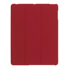 GRIFFIN INTELLICASE AUTO WAKE UP CASE AND STAND FOR APPLE IPAD 2/3/4 - RED