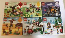 LEGO Seasonal: 40236 + 40237 + 40260 + 40261 + 40262 + 40263 NEW/Sealed (6 Sets)