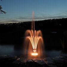 LED Fontänenbeleuchtung Wasserspiel Fontäne Beleuchtung Schaumsprudler Pumpe