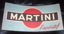 Pubblicità Martini - Cappello muratore carta 1950 ca.