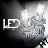 XENTEC LED HID Headlight kit H7 White for Volkswagen Beetle Cabrio 2010-2011