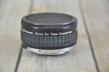 JCPenney Auto 2x Tele-Converter Lens O/OM 624-4350 for Olympus