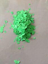 Farb Deco Chips Zum Einwurf In Bodenbeschichtungen 1kg Grün