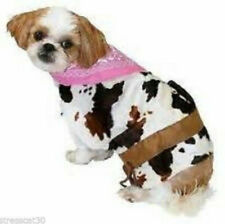 COWGIRL Western Rodeo Dairy Cow Lasso Dog Shirt Costume Photo Prop XS S M L XL