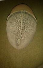 Antique Metal Wire Mesh Fencing mask swordplay bee keeping vintage