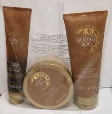 Avon Planet Spa Pampering Chocolate Set, Mask, Body Whip, Body Wash!!