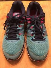 New listing NIKE WOMEN TURQUOISE & BLUE ANODYNE DS2 TENNIS SHOES 616598S29 SIZE 9