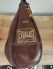 Everlast Genuine Leather Speed Punching Bag 4210