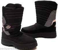 Jungen/Herren SNOWBOOTS*Schneestiefel*Stiefel*Winterstiefel*Gr35-40*schw/grauNEU